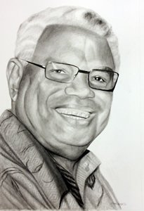 Charcoal Portrait of My Father